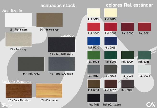 Color aluminio imagui - Aluminios garcilaso ...