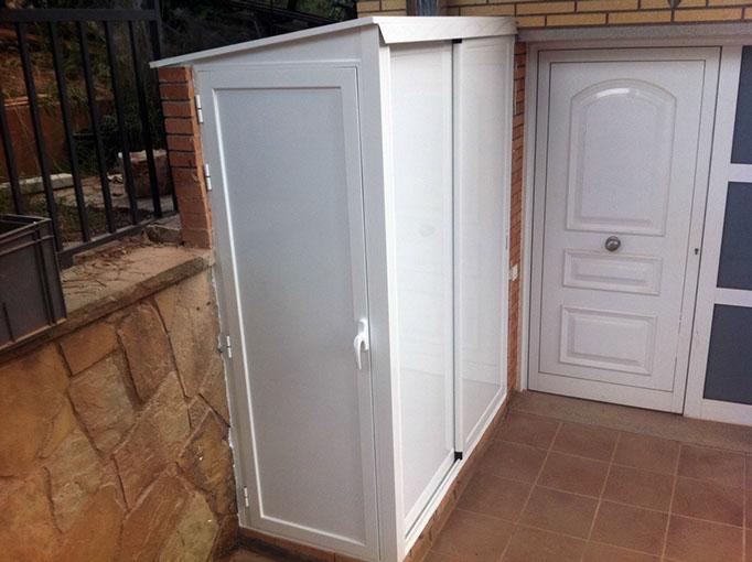 Armario lavadora exterior ideas de disenos for Mueble lavadora exterior