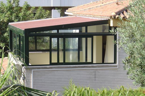 Vidrios para terrazas imagen de con vidrio vidrios para for Casetas aluminio para terrazas
