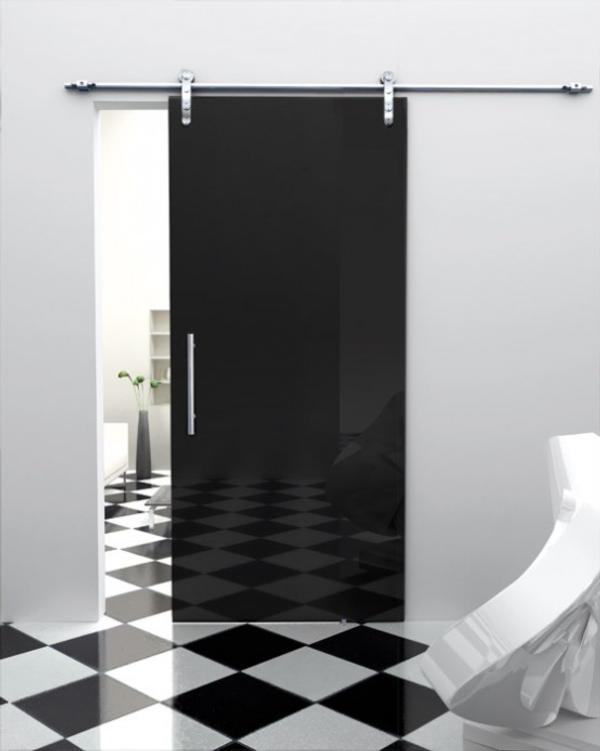 puerta corredera cristal color gris puerta interior puerta cristal puerta vidrio