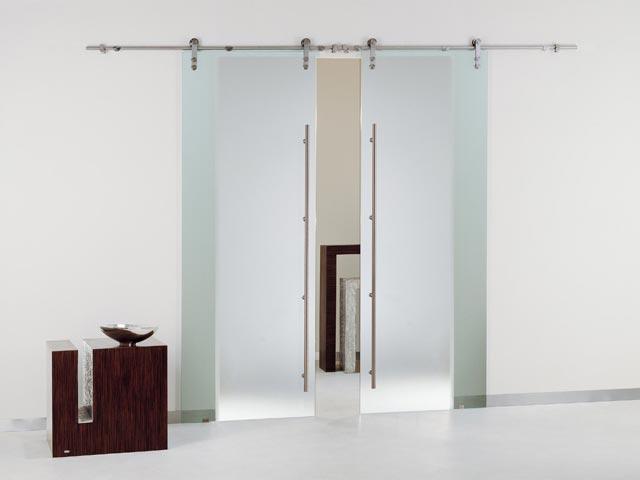 Puerta interior corredera puerta corredera cristal for Puerta corredera interior madera