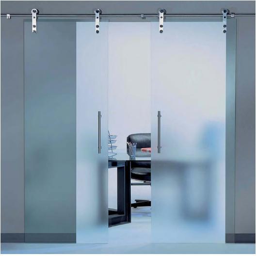 Aluminios garcilaso productos puertas correderas - Puertas deslizantes de cristal ...