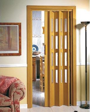 Aluminios garcilaso productos puerta plegable de pvc - Puerta plegable de pvc ...