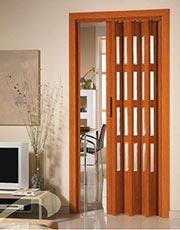 Aluminios garcilaso productos puertas plegables de pvc carpinter a de aluminio en barcelona - Puertas tipo fuelle ...