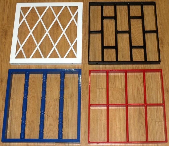 Aluminios garcilaso productos rejas fijas y for Modelos de rejas de fierro para puertas