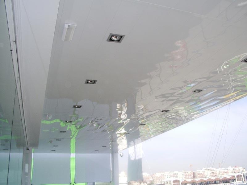 Aluminios garcilaso productos techos de aluminio for Techos redondos fotos