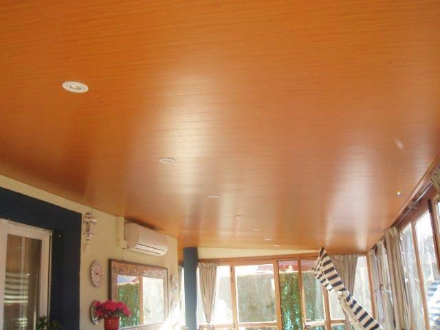 Aluminios garcilaso productos techos de aluminio for Pintar techo cocina