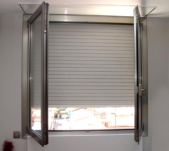 Cierre seguridad ventana aluminio great amazing with for Ventanales elevables